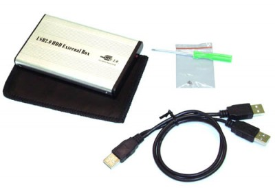 Universal SATA-to-USB HDD Hard Drive Disk Case Adapter