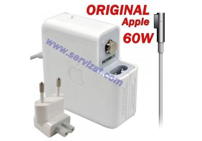 Адаптер за лаптоп ОРИГИНАЛЕН (Зарядно за лаптоп) APPLE MAC ADP-60AD MagSafe 60W 16.5V 3.65A A1184 ремаркетиран