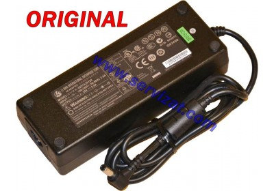Адаптер за лаптоп ОРИГИНАЛЕН (Зарядно за лаптоп) Fujitsu 20V 6A (HP 18.5V 6.5A Toshiba 19V 6.3A) 120W ремаркетиран