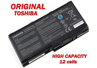 Батерия ОРИГИНАЛНА Toshiba Qosmio G60 G65 X500 X505 Satellite P500 P505 P505D PA3729U-1BRS PA3730U-1BRS 12кл